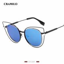 CS2247 High Quality Cat Sunglasses Hollow Frame Sexy Vintage women Luxury sunglass