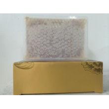 Paquete de caja cruda miel peinada