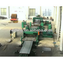 carbon steel plate cut to length line