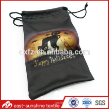 Custom soft ski goggle bags,High quality microfiber ski goggle bags