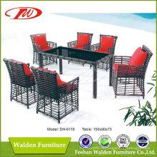 Наружная мебель, Открытый стол, Открытый стул (DH-6116)