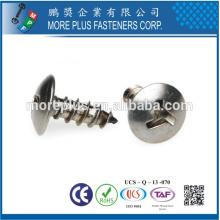 Taiwan Stainless Steel M3X10 filetage formant la vis de sécurité Tri-Wing pour la sécurité
