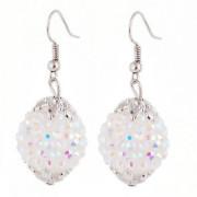 Hot! ! ! Newest Fashion Charm Earring Shamballa Beads Bling Earrings Wholesale
