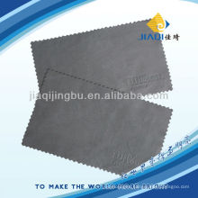 microfiber glasses cloth with embossing logo