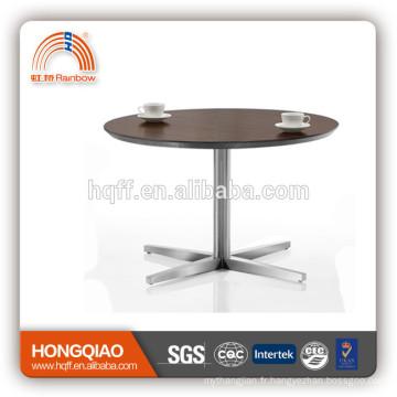 T-Y11 table basse en acier table basse en bois table basse