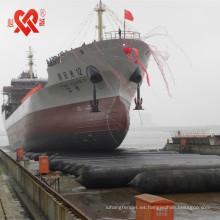 airbag marino para buque utilizado para el lanzamiento o el aterrizaje de buques