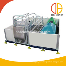 Hot Galvanized Pig Farrowing Crates For Pig Farrowing Machine