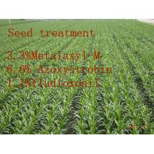 Fungicida para Tratamento de Sementes, Metalaxil-M & Azoxistrobina & Fludioxonil