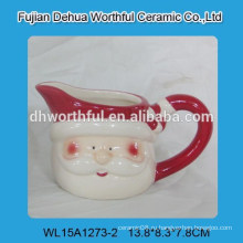 Креативный дизайн милый Санта Клаус керамический молочный стаканчик для Рождества