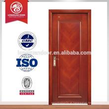 HDF e MDF flush preço da porta de madeira