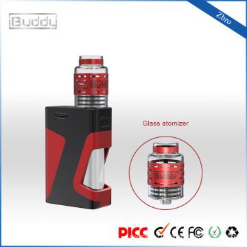 iBuddy Zbro faible résistance 1300mAh créatif réservoir d'huile RDA structure vapeur starter kit