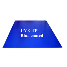 Plaque de ctcp revêtue de bleu sensible