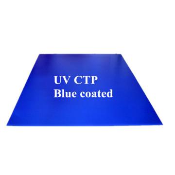 Алюминиевая графическая синяя оболочка UV Ctcp