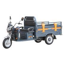 Marco de acero triciclo eléctrico de carga abierta de 3 ruedas