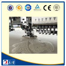 embroidery machine multi needle sequin device attached