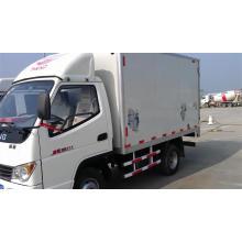 Left Hand Drive 4X2 Light Box Truck 2t