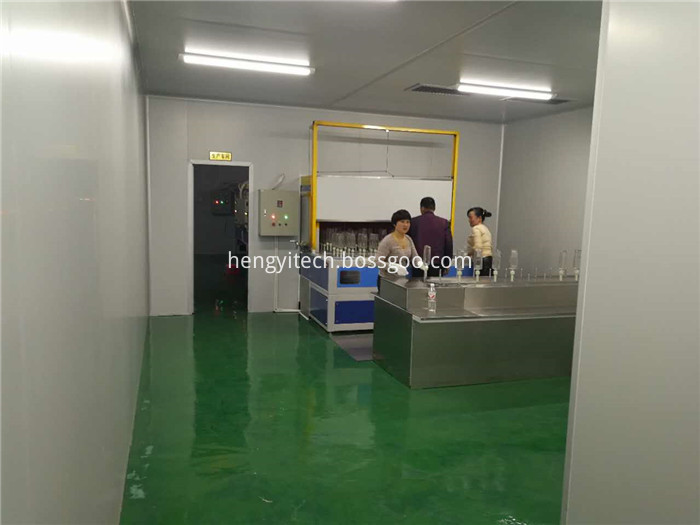 Automatic Spray Painting For Glass Bottle