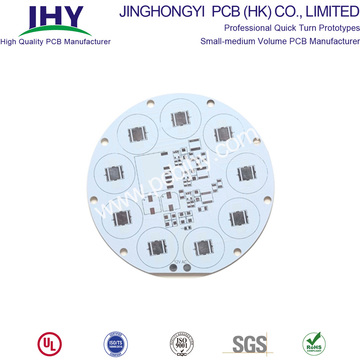 PCB LED tondo con base in alluminio a 1 strato