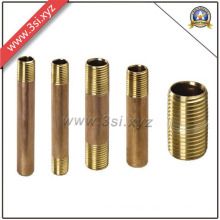 Hot Sale Quality ANSI B 16.11 Copper Male Thread Barrel Nipple (YZF-M561)