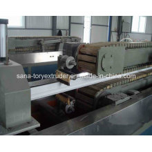 Plastic Extruder Machine UPVC Profile Extrusion Production Line