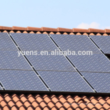 Structure flexible de panneau solaire sur la structure de support de picovolte de toit