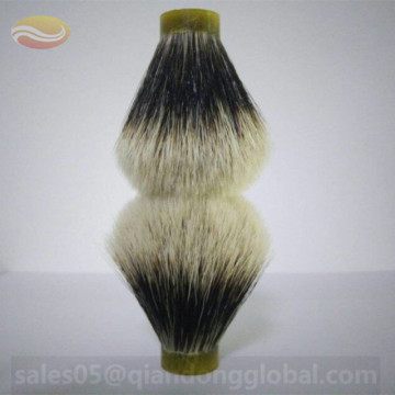 Two Band Badger Hair Shaving Brush Knot