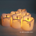 Lilin Listrik Flameless Moving Wick Led Candle