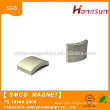 China supplier wholesale arc shape Permanent smco magnet
