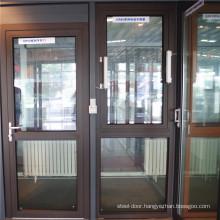 Aluminum Glass Windows casement Aluminum sliding Hinged Doors Price for Dubai market