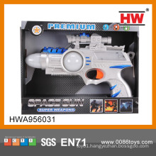 New 43CM Plastic Electric Kid Toy Gun electric gun