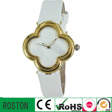 3 ATM Watch Resistant Genuine Leather Strap Ladies Watch