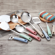 Wheat Straw Handl Multifunction Stainless Steel Cooking Tool
