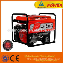 gaosline/petrol fuel 6.5kva 3 phase generator set for sale