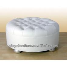 Einzigartiges Design runden Sitz osman Sofa mit Knöpfen oben XY0314