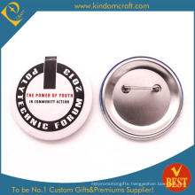 Teaching Forum Tie Button Badge in Cheap Price From China