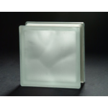190*190*80mm Acid Cloudy Glass Block with AS/NZS 2208
