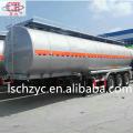 stainless steel edible oil semi trailer tanker