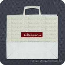 Saco de portador de plástico impresso personalizado