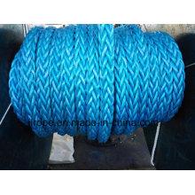 Sinal Segurança Amarração Rope12 Strand / Mooring Rope RP12 Ultra Blue