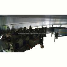Tira de acero formando máquina silo máquina