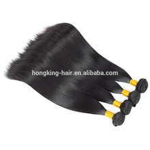 soft top quality bottom price 9A Brazilian remy stright curl hair extensions thick bottom