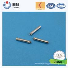 Pin de metal de aço inoxidável da fábrica do ISO para as peças da motocicleta