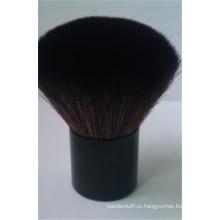 Высококачественная частная этикетка для волос из козьей шерсти Kabuki Face Brush
