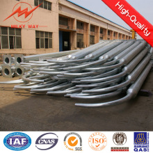 15m Galvanized Street Lighting Pole with Single Arm