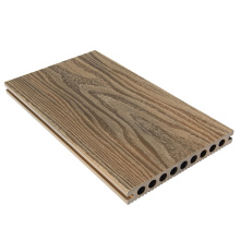 Plancher en bois composite de couleur mélangée de double de côtés