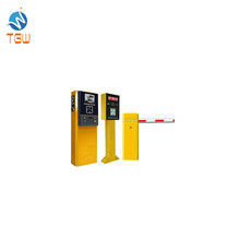 Ticket Paper Parking Lot Management System with Access Control Board and Barrier