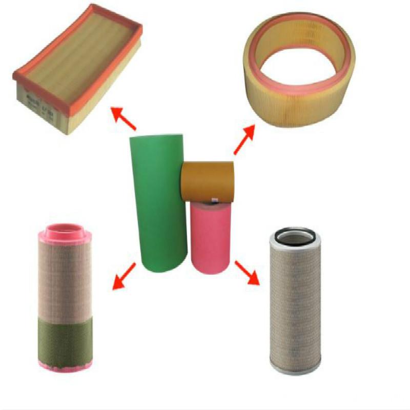 Crepe Filter Paper for Diesel Filter