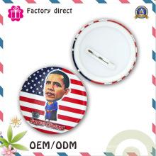 Forme ronde en métal de haute qualité Différence Design Pin Badge Badge Gift