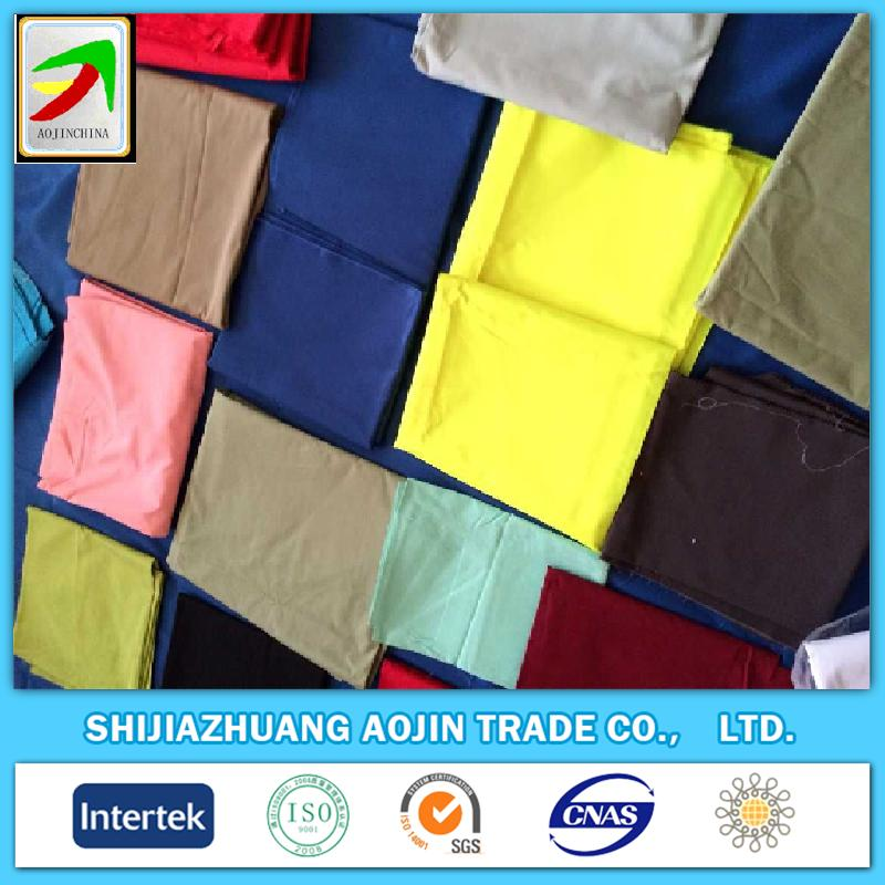 CM poly/cotton65/35 45x45 133x72 plain dyed fabrics
