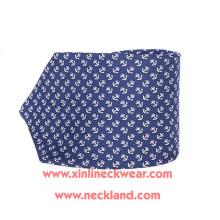 Handmade Wholesale 100% Silk Printed Anchor Tie